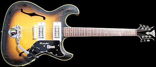 1965 Burns Vibraslim guitar