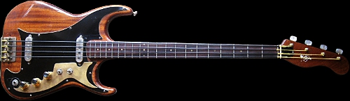 1961 BURNS Artist Deluxe Bass