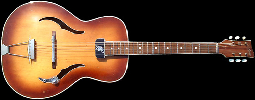 1962 BURNS 'Defiant' Archtop