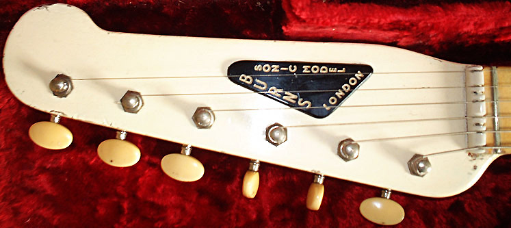 1960 BURNS Sonic Model in White