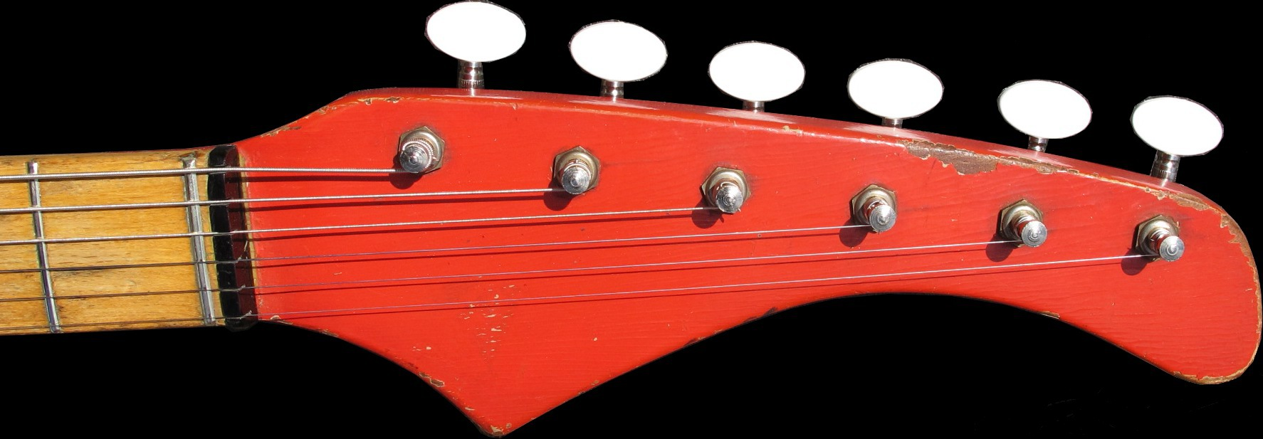 1961 HOHNER Apache headstock by Fenton Weill