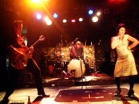 Gin Palace at CBGB's, New York City 2004