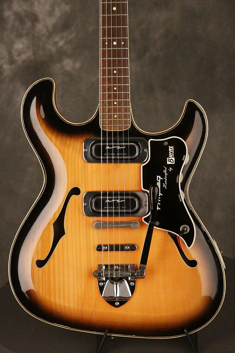 1963 AMPEG Thinline aka BURNS TR2 Guitar